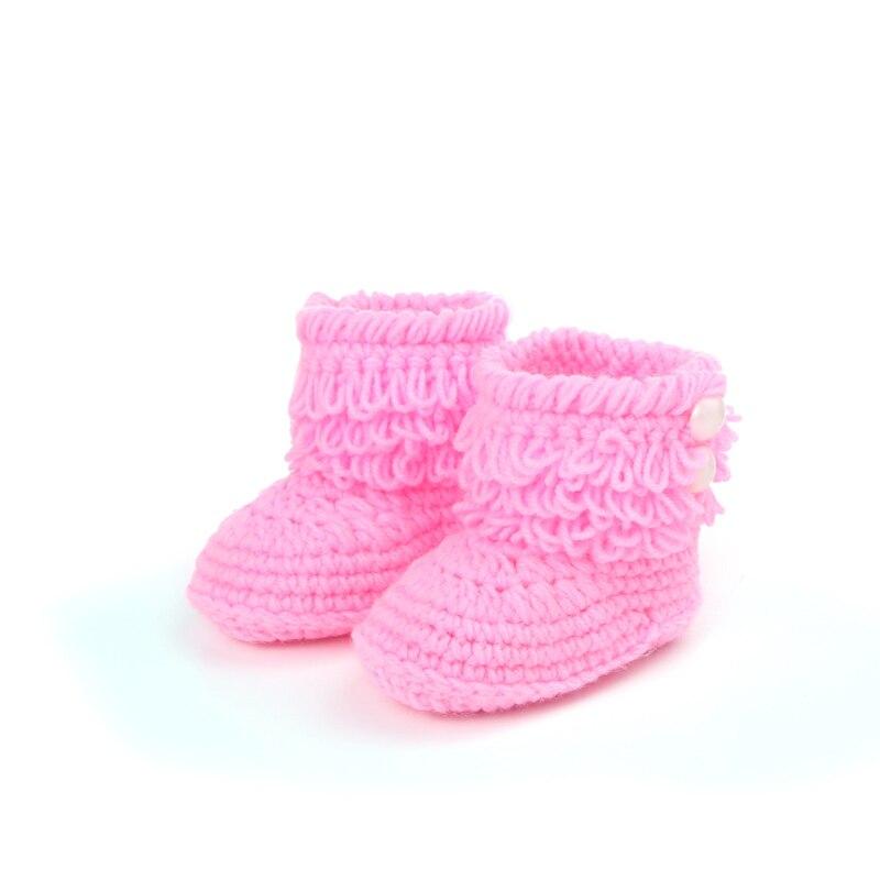 Neue handgewebte Baby Kleinkind weiche Schuhe 0-6month Hallo-Top - Babyschuhe - Foto 3