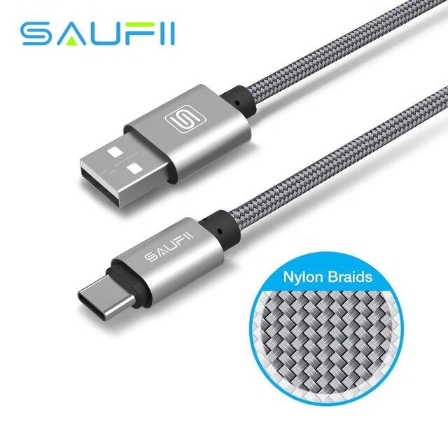 Saufii USB 3.1 Type C Câble USB Type C à USB Type A 2.0 de Chargement De Données homme Câble pour Un Plus Macbook Nexus 6 P 5X Xiaomi 4C 4i