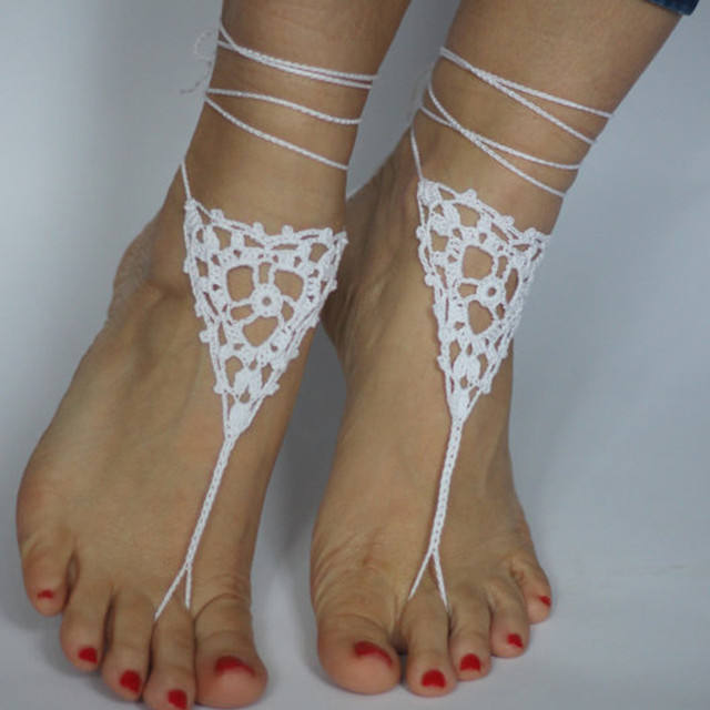 97081c048d5c Wedding Barefoot Sandals