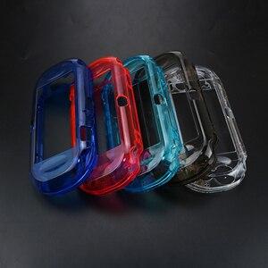 Image 2 - YuXi שקוף ברור מקרה קשה מגן כיסוי מעטפת עור עבור Sony פלייסטיישן Psvita PS Vita PSV 1000 קריסטל גוף מגן