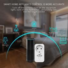 Smart Wifi Plug Wifi Schakelaar Smart Homekit Socket Eu Adapter Voor Apple Homekit Siri Alexa Google Home App Voice Afstandsbediening controller