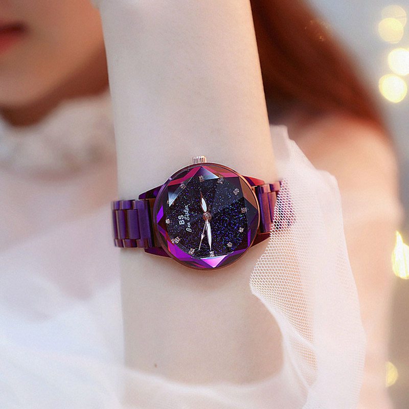 2018 Women Watches Ladies Watches Top Brand Bling Star Dial Steel Watch Luxury Dress Wristwatch Montre femme Satt relojes 2018 Women Watches Ladies Watches Top Brand Bling Star Dial Steel Watch Luxury Dress Wristwatch Montre femme Satt relojes