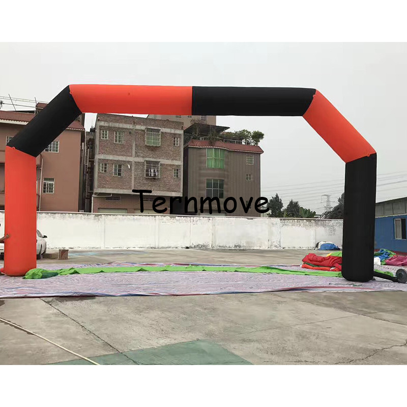 inflatable arch door finish gate start gate for big event advertisement race game entrance arch race events finish line