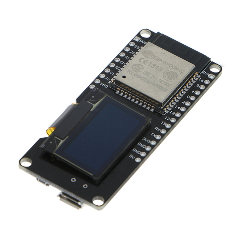 ESP32 OLED Wemos WiFi Module+ Bluetooth Dual ESP-32 ESP-32S ESP8266 OLED For Arduino 1pcs esp32 wemos esp 32 wifi modules bluetooth dual esp 32 esp 32s esp8266