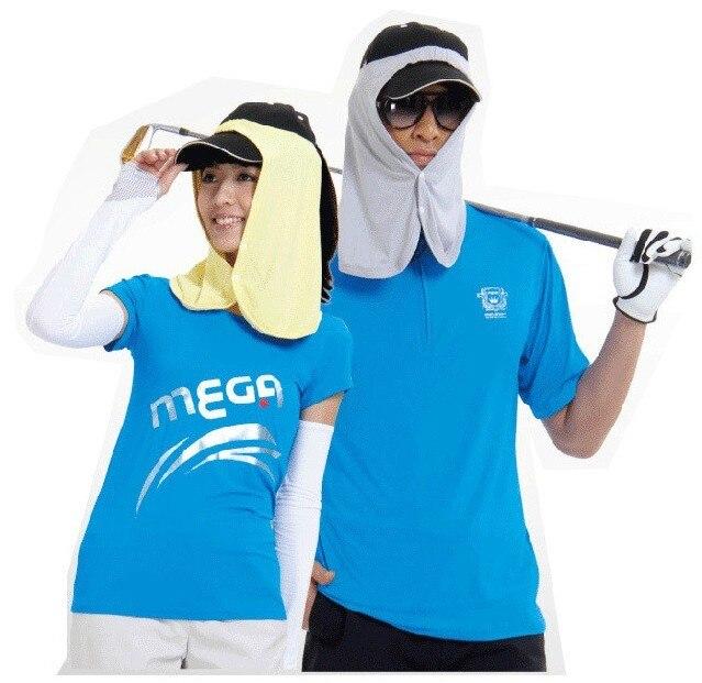 Sun hat men women's sunscreen muffler scarf cool refreshing viscose nano material veil golf bandanas