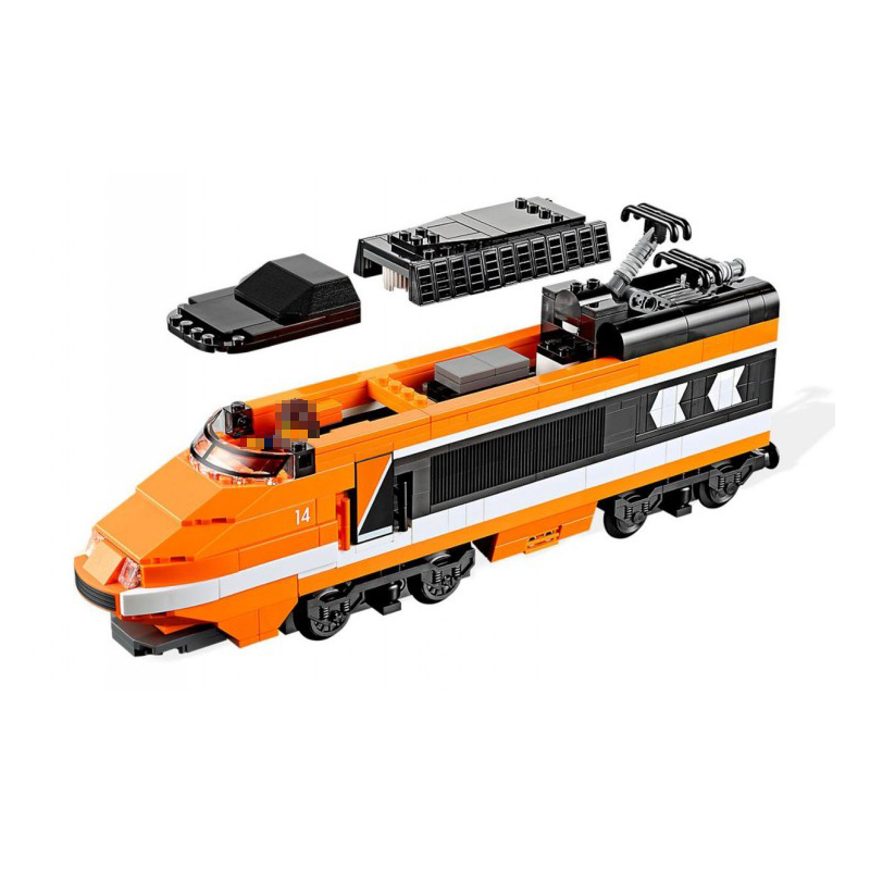 Compatible Legoe Technic 10233 model 21007 1351pcs Horizon Express Train building blocks Figure Bricks toys for children decool 3117 city creator 3 in 1 vacation getaways model building blocks enlighten diy figure toys for children compatible legoe