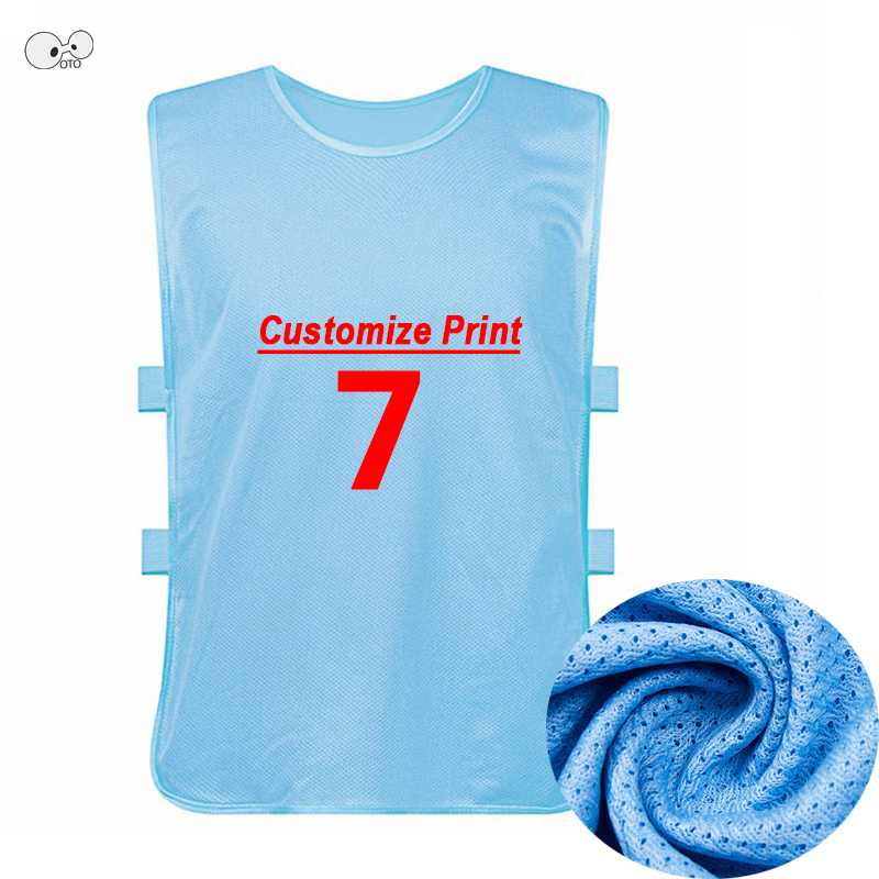 f28ce6528ec Detail Feedback Questions about Custom Print Kids Adults Team Training  Scrimmage Vest Soccer Basketball Pinnies Jerseys Boys Breathable Mesh Quick  Dry Tank ...