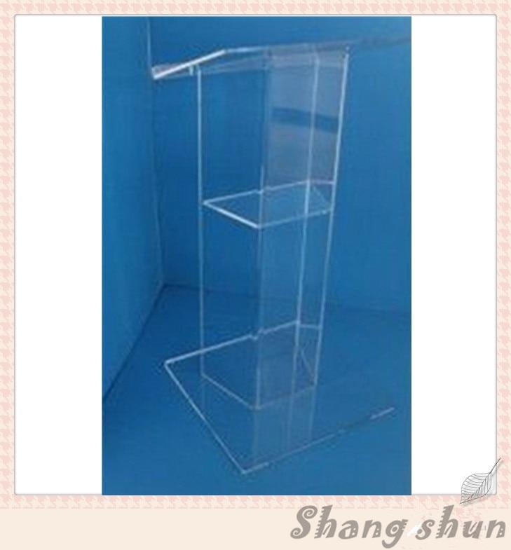 Clean Acrylic Podium Pulpit Lectern Acrylic Podium Organic Glass Lectern Podium