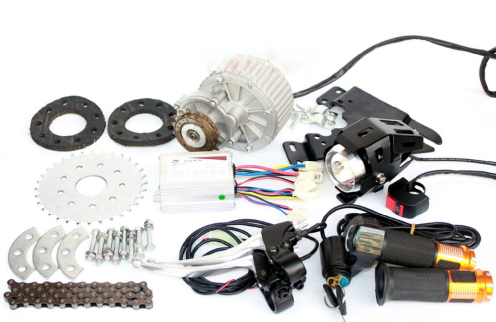 Newest 450W E bike Motor Kit Electric Multiple Speed Bicycle Conversion Kit Electric Engine Kit For Multi speed Bicycle
