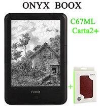 "Nueva original ONYX BOOX c67ml carta2 ebook 8G pantalla táctil de 6 ""ereader 300 dpi 3000 mAh WIFI regalo envío libre de la pu + cubierta"