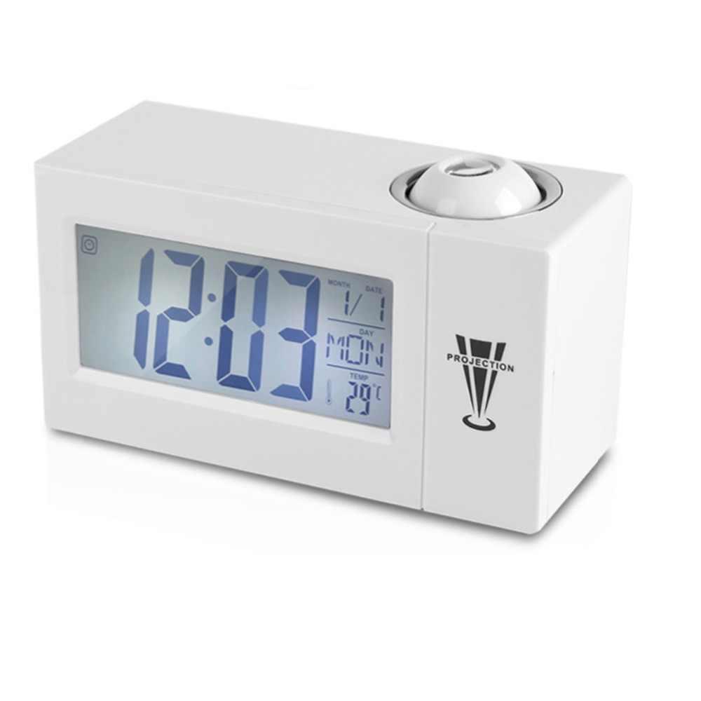 СЗС ЖК экран цифровой светодиодный проекционный Будильник Календарь