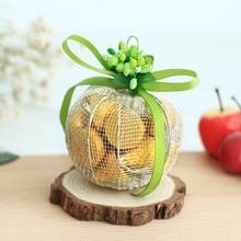 Iron Christmas Gift European Candy Box Wedding Beautiful gift bags  flower box