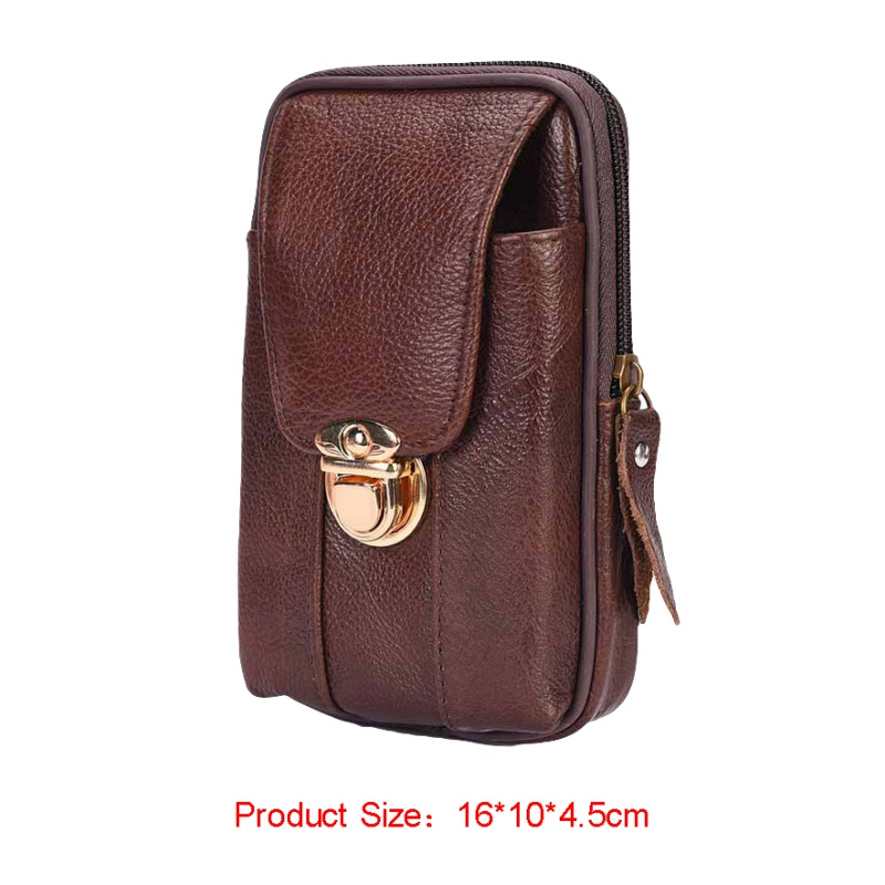 Metal Buckled Wear Resistant Waist Bag Phone Case Pouch Wallet Cell Phone Bag Mobile Phone Belt Pouch