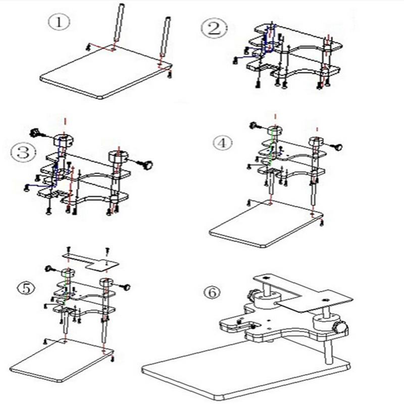 BDM Frame Full Adapter for BDM100 ECU Programmer Tool ECU Chip Tunning Tool FGTECH Galletto V54