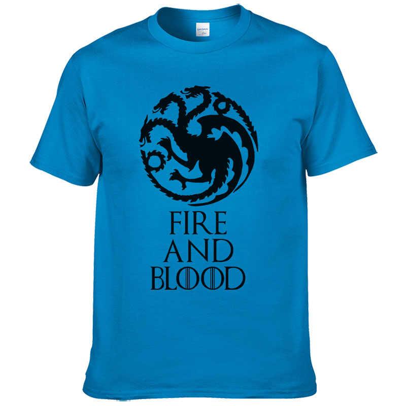 6d678978229a9 ... 2017 New Listing Game of Thrones T-shirt fire and blood Tee House  Targaryen shirt ...