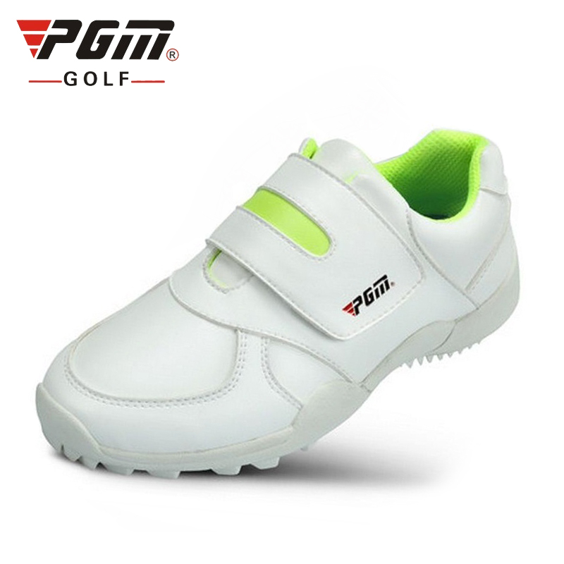 PGM Childrens Golf Shoes Boys girls High Quality soft Microfiber waterproof breathable Kid Golf Sneakers Outdoor Sports Shoes