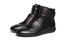 Baldinini mâle hiver casual bottes thermique mâle bottes de mode à hauteur du genou coton bottes tendance chaussures en cuir véritable