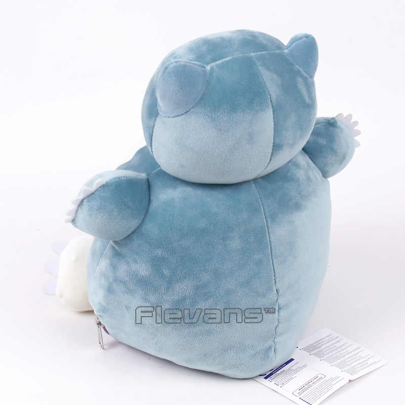 Anime Cartoon Ditto Cosplay Snorlax Plush Toys Soft Stuffed Animal Dolls  30cm