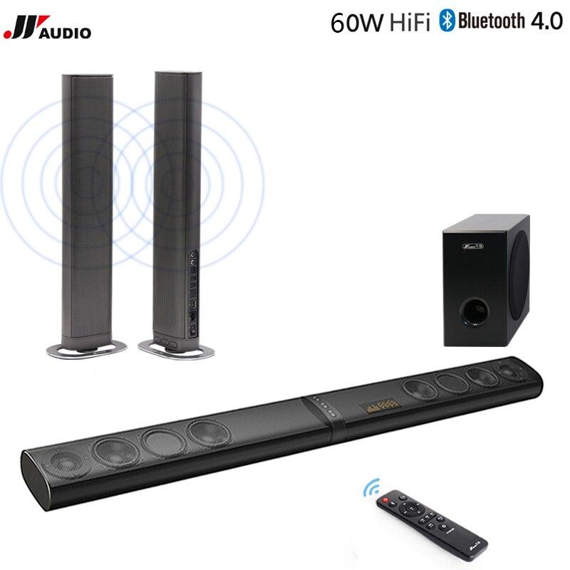 Soundbar Drahtlose Bluetooth Heimkino Soundbar Bluetooth Subwoofer Mp3 Multimedia Lautsprecher System Mit Led-anzeige