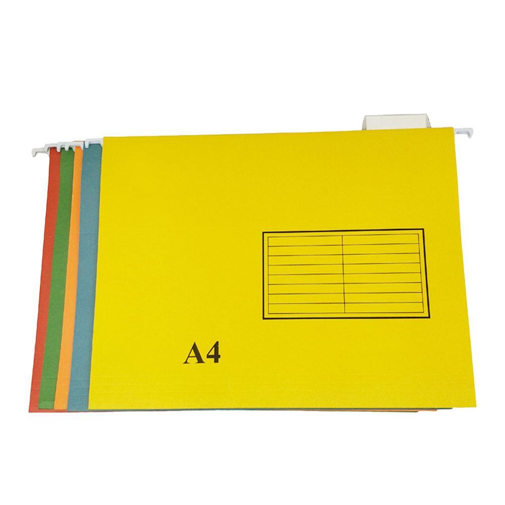 Aktetas Tas Voor Documenten A4/fc Papier Map Lange Staart Clip Ijzeren Haak Ordner Kleurrijke Map Aktetassen Kantoor Zakken Pure Witheid