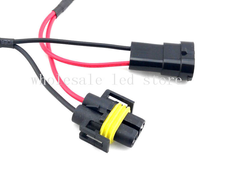1Pcs H11 LED Decoder Resistor Canbus Wire Harness Adapter DC12V for LED Headlight Fog DRL Lamp aliexpress com buy 1pcs h11 led decoder resistor canbus wire can bus wiring harness at reclaimingppi.co