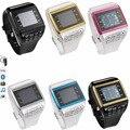 Q5 gsm bluetooth smart watch teléfono móvil con soporte de teclado sim tarjeta de mp3 smartwatch para samsung galaxy s7 s7 edge s6 s6 borde