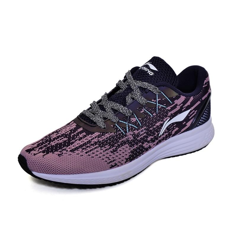 Li-ning femmes 2017 vitesse étoiles coussin chaussures de course respirant baskets Textile léger doublure chaussures de Sport ARHM082 XYP472 - 2