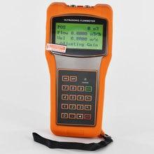 Handheld Ultrasonic Liquid Flow Meter TUF-2000H DN50-700mm Digital Portable flowmeter TM-1 Transducer цена