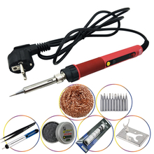 цены на CXG E90WT LED Adjustable Digital Electric Soldering Iron Constant Temperature Soldering Station Heater Electric Soldering Iron  в интернет-магазинах