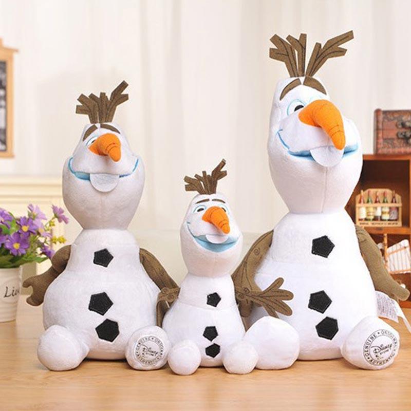 30/50 CM Disney Frozen Princess Olaf Plush Kawaii Snowman Cartoon Toys Stuffed Girl Toys For Children Plush Toy Juguetes