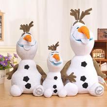 30/50 cm disney congelado princesa olaf pelúcia kawaii boneco de neve dos desenhos animados brinquedos da menina enchidos para crianças brinquedo de pelúcia juguetes