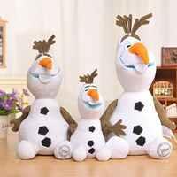 30/50 CM de la princesa Frozen de la princesa OLAF de peluche kawaii muñeco de nieve de dibujos animados Juguetes de peluche para niñas Juguetes de peluche para niños Juguetes de peluche