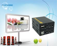 394ft HDMI USB ИК по ip-сети KVM Extender 1080 P HDMI клавиатура Мышь KVM Extender 120 м через RJ45 STP/UTP cat5e cat6 кабель