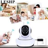 LESHP Wireless WiFi IP Camera 1280*720 HD Household Baby Monitor TF Card Record Audio Video Surveillance Camera 5V 1.5A