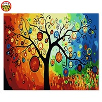 Digital Oil Painting Decorative Painting Star Apple Children Room Boys And Girls Bedroom Dining Room Living