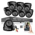 ZOSI Sistema Impermeable Del CCTV Video Recorder 8CH Completa 960 H 1000TVL Cámara de Seguridad Inicio de Vigilancia Kits