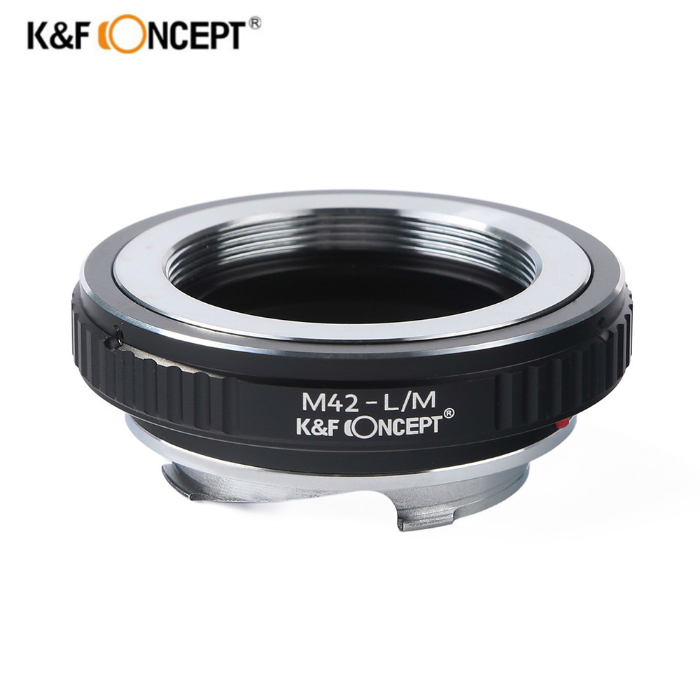 цена K&F CONCEPT M42-L/M Lens Adapter Ring For M42 Screw Lens to Leica Voigtlander M9 M6 M7 M8 Camera