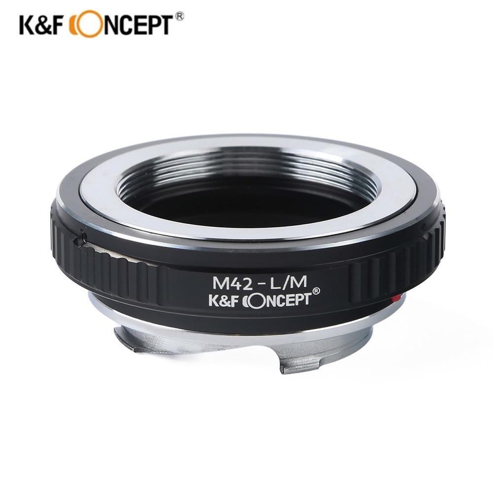 K&F CONCEPT M42-L / M objektív adapter gyűrű az M42 csavar - Kamera és fotó