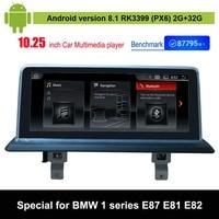 Android 8.1 Car Multimedia Player for BMW 1 series E87 E88 E81 E82 Auto GPS Navigation
