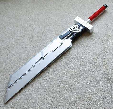 Us 500 05 S5104 Anime Final Fantasy Vii 6 Cloud Strife Blades Combined Steel Buster Sword 51 8