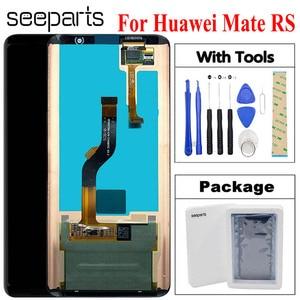 ЖК-дисплей 6,0 дюйма для Porsche Design Huawei Mate RS, цифровой преобразователь сенсорного экрана, стеклянная панель в сборе, ЖК-экран для Huawei Mate RS