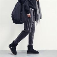 Pantaloni Larghi Pantaloni Addensare Caldo di Inverno delle donne Pantaloni Casual Femminile Della Tuta Termica di Buona Qualità Delle Donne di Velluto Padelle Più Il Formato S-2XL