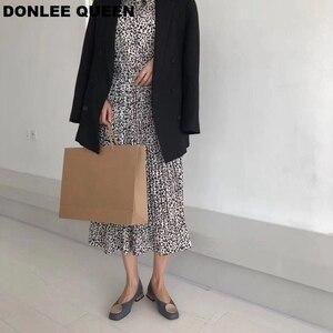 Image 5 - DONLEE QUEEN ผู้หญิงแฟลตรองเท้าไม้ LOW Heel Ballet สแควร์ตื้นหัวเข็มขัดยี่ห้อรองเท้า SLIP บน Loafers zapatos de mujer