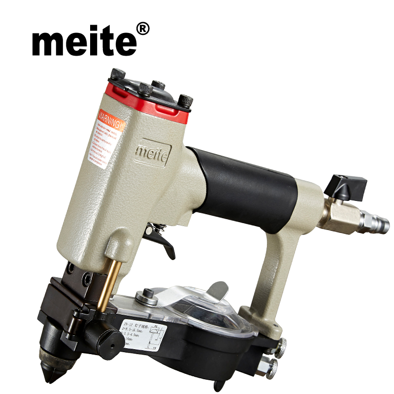 MEITE ZN-12 pneumatic nailer crown 8.5-10.5mm automatic feeding air deco pneumatic nailer gun  Jun.14 Update tool