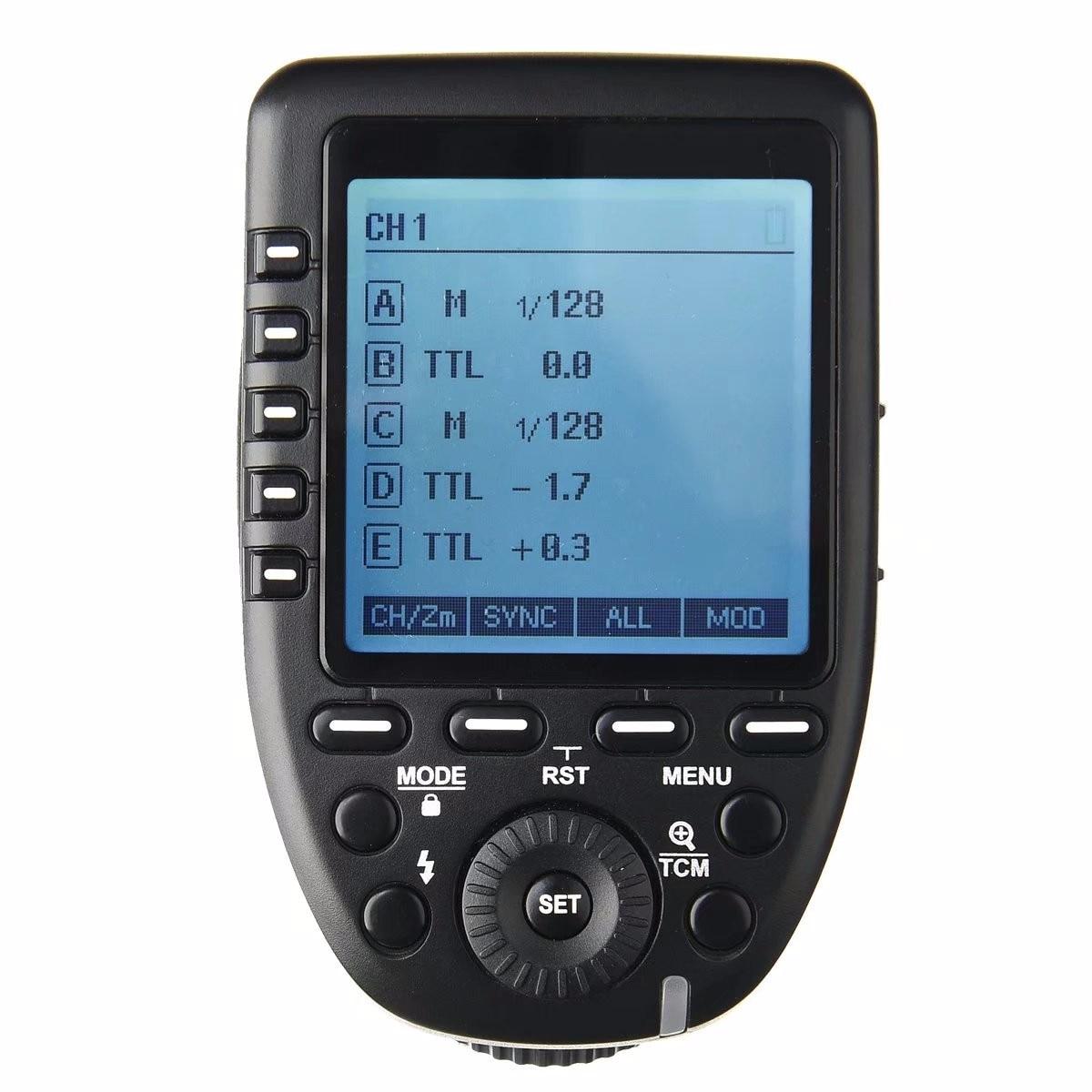Godox XPro-C Flash Trigger Transmitter with E-TTL II 2.4G Wireless X System HSS LCD Screen for Canon DSLR Camera yn e3 rt ttl radio trigger speedlite transmitter as st e3 rt for canon 600ex rt new arrival
