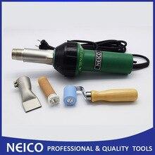 120 в или 230 в инструменты для сварки горячим воздухом 1600 Вт Тепловая пушка с 40 мм тефлоновым швом и пластиковым соплом сварщика