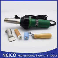 Free Shipping, 120V Or 230V Hot Air Welding Tools Of 1600W Heat Gun With 40mm Teflon Seam Roller And Plastic Welder Nozzle
