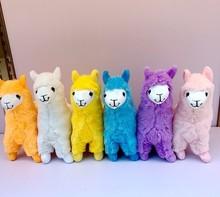 New 23cm Alpaca Plush Doll Toy Stuffed Animals Llama Japanese Sheep Soft Alpacasso Doll Toy For Baby Kid Birthday Gift Promotion недорого