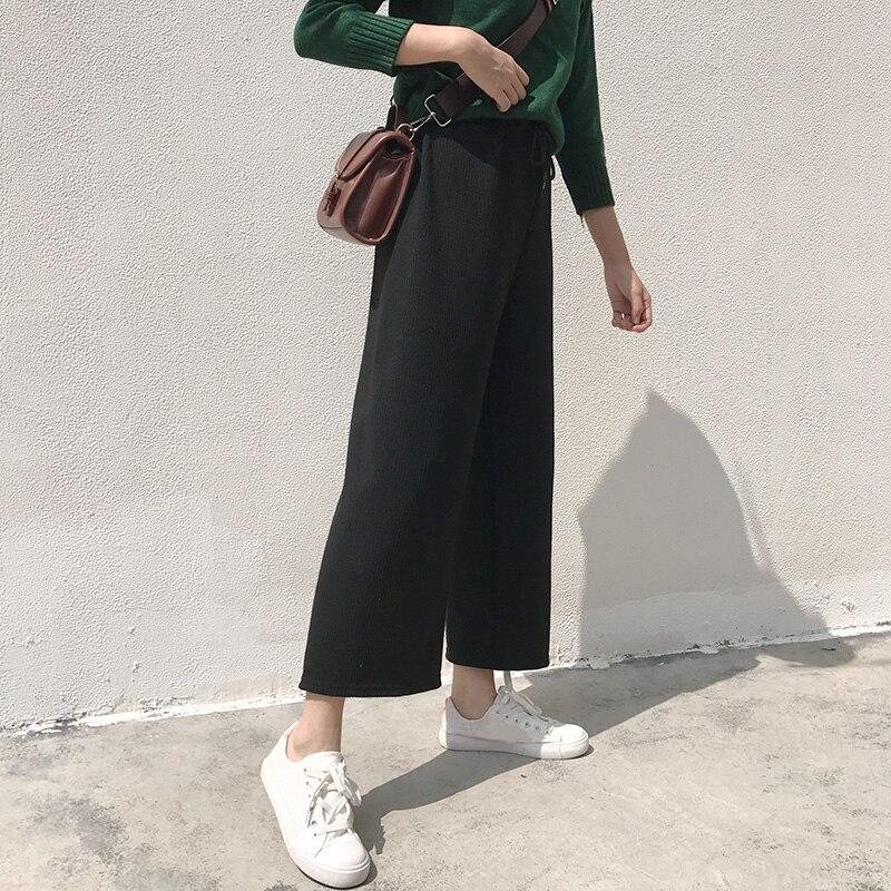 1f0bb8f1aeab 2019 2018 Autumn Winter Pants Women Korean Style Streetwear Casual ...