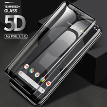 5D Protezione Dello Schermo per Google Pixel 4 3 XL Oleorepellente Temperato film di Vetro Per Google 3 XL 3A xl Curvo vetro di protezione